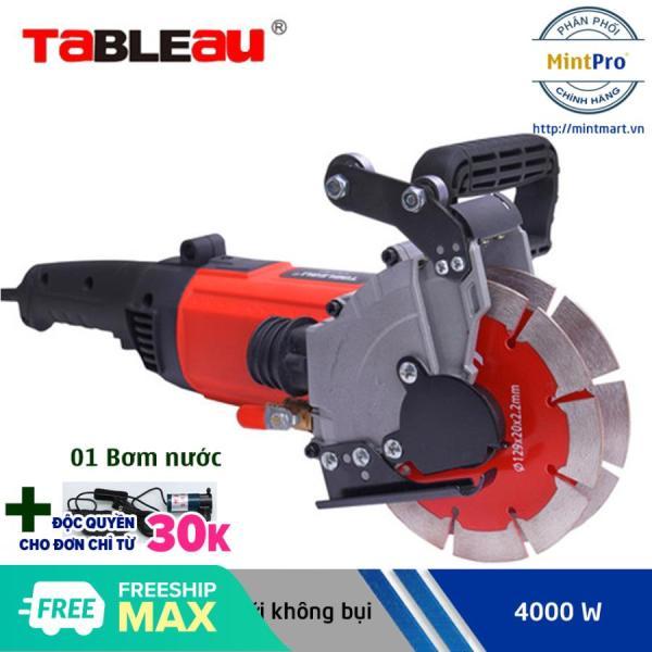 Máy cắt rãnh tường 2 lưỡi Tableau 6807 - Tặng kèm máy bơm nước mini khử bụi mịn