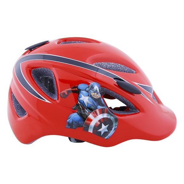 Giá bán Mũ Bảo Hiểm Basecamp trẻ em SK006 - SIÊU NHÂN Captain America (Đỏ) FREE SIZE BABY
