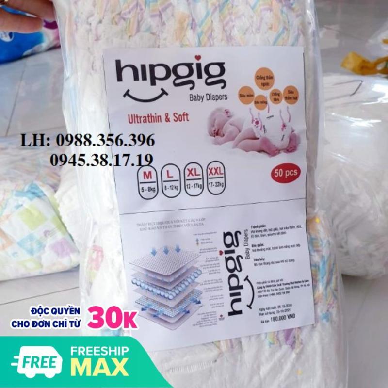 50 miếng bỉm quần Hipgig xuất nhật