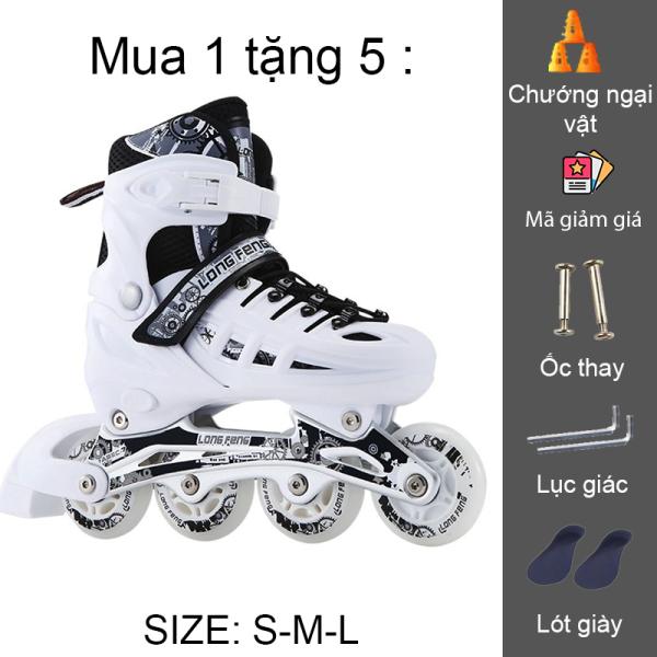 Mua Giày trượt patin longfeng 905 có thể điều chỉnh size giành cho trẻ em và người lớn