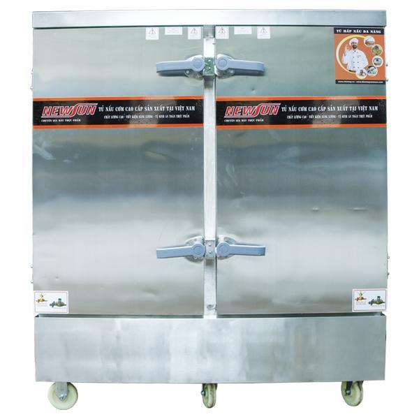 Tủ Hấp Giò Chả 24 Khay (120kg/mẻ)
