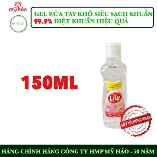 Gel rửa tay khô diệt khuẩn 150 ml TIỆN DỤNG - Công ty HMP Mỹ Hảo phòng chống dịch bệnh - Sạch tay diệt 99.9% vi khuẩn thumbnail