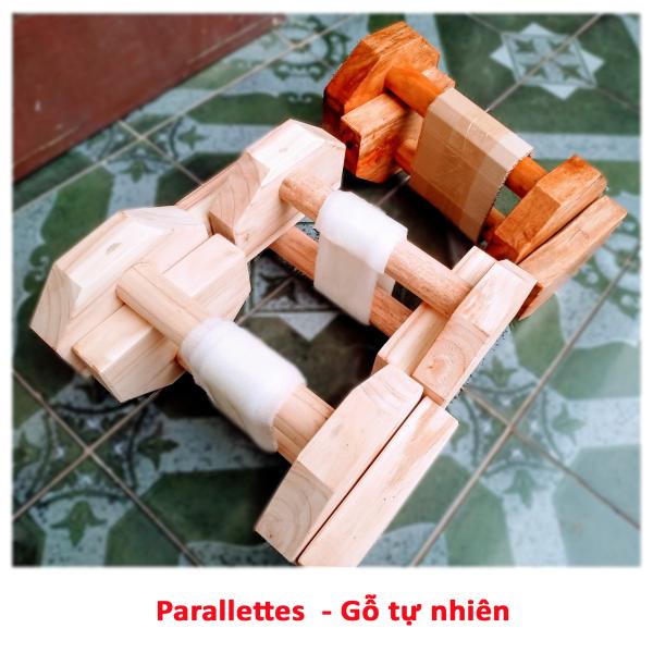 Bảng giá Parallettes - Dụng cụ hỗ trợ hít đất, chống đẩy (Một đôi)