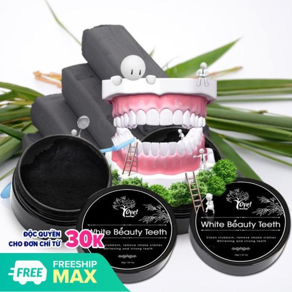 Bột Than Hoạt Tính Làm Trắng Răng  White Beauty Teeth 30g giá rẻ