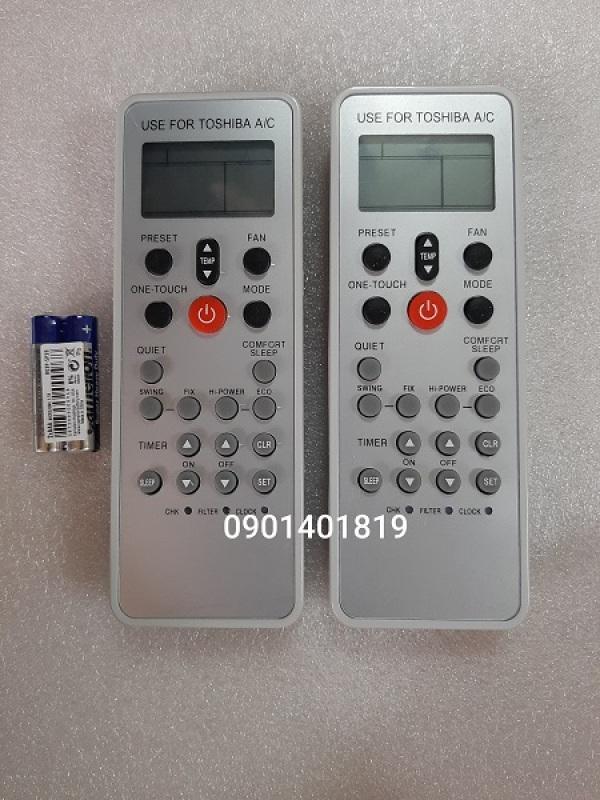 Bảng giá Điều khiển máy lạnh Toshiba xám