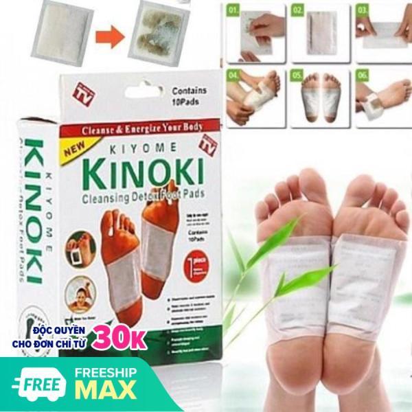 COMBO 20 Miếng dán chân giải độc massage chân Kinoki NHẬT BẢN (20 miếng/2 hộp) giá rẻ