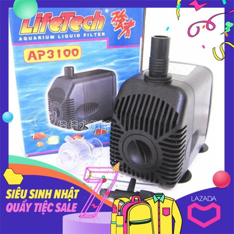 Bơm Lifetech AP3100 dùng máy bơm bể cá cảnh, trồng thủy canh, hệ thống aquaponics ....