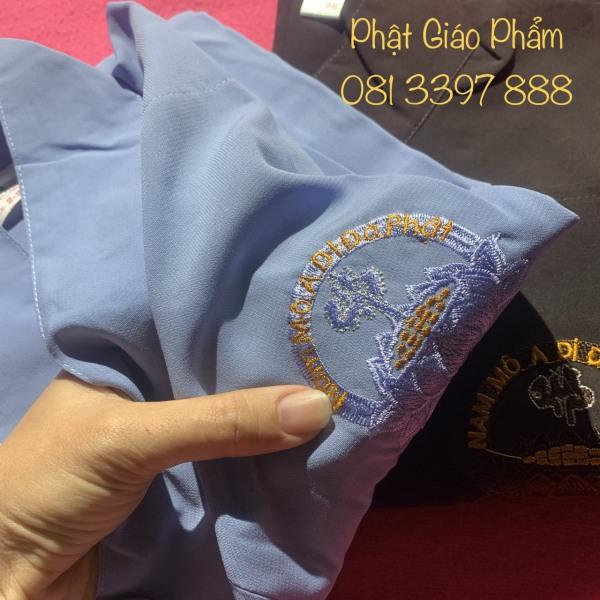 Áo Tràng Silk Phật Tử (vải siêu mát)