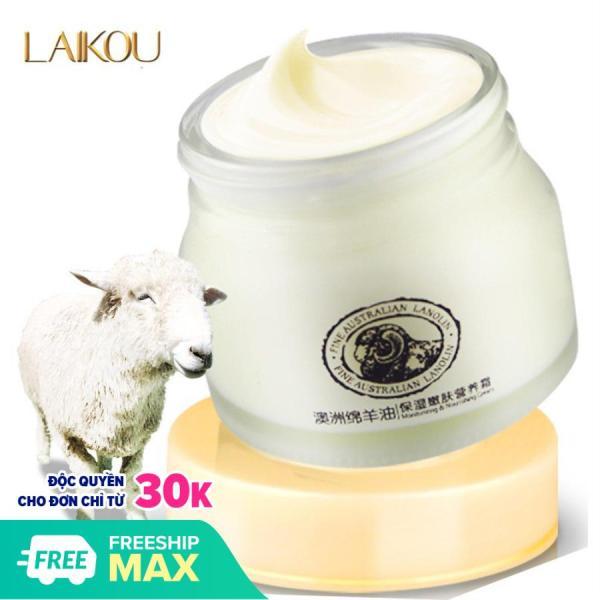 Kem dưỡng trắng da nhau thai cừu Laikou giúp da căng bóng mịn màng nâng cơ trả hóa làn da -NTC38-K03T3 cao cấp