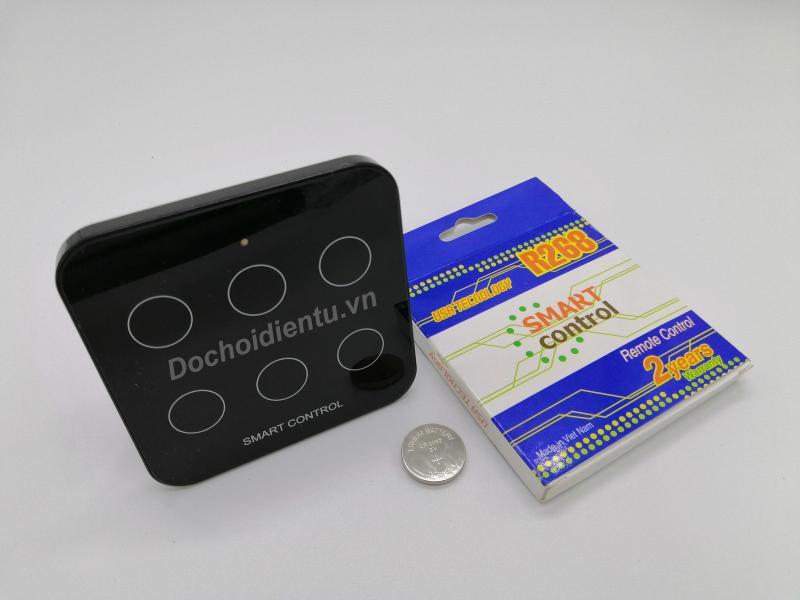 Remote RF cảm ứng kích cường lực tần số 315hz học lệnh