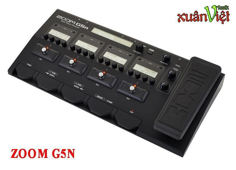 Phơ bàn cho Guitar - Zoom G5N
