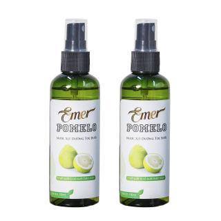 Bộ 2 chai xịt bưởi ngăn rụng tóc Pomelo, bổ sung dưỡng chất, kích mọc tóc tự nhiên 100ml x2