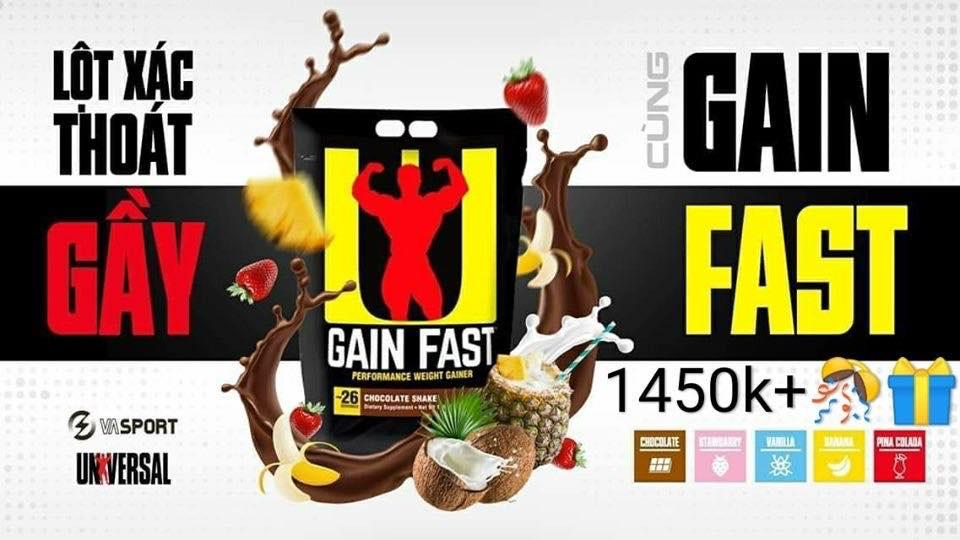 Gain Fast 3100 -13lbs (5,9kg)