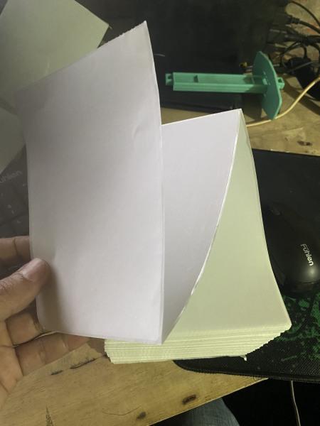 Mua Giấy Nhãn Dán Decal Media A6 100 Tờ In Tem Vận Chuyển In Phiếu Gửi Hàng Dùng Cho Máy In Laser văn phòng( tem 100x150mm)