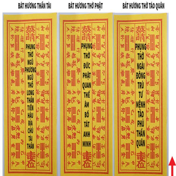 Di Hiệu Bát Hương(Combo 5 tờ)