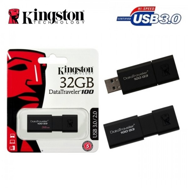 Siêu Tiết Kiệm Khi Mua USB KINGSTON 32G 3.0 DT100G3
