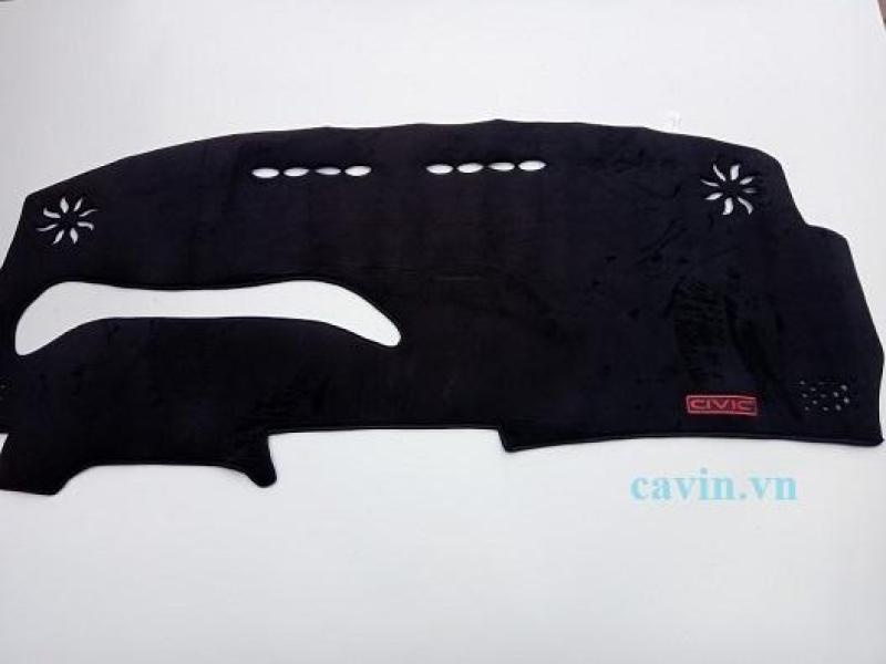 Thảm taplo nhung lông cừu xe Honda Civic 2008-2012