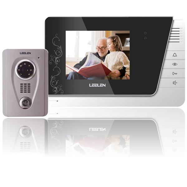 Giá Chuông cửa màn hình 4 inch LCD màu N06-V-26 chống nước