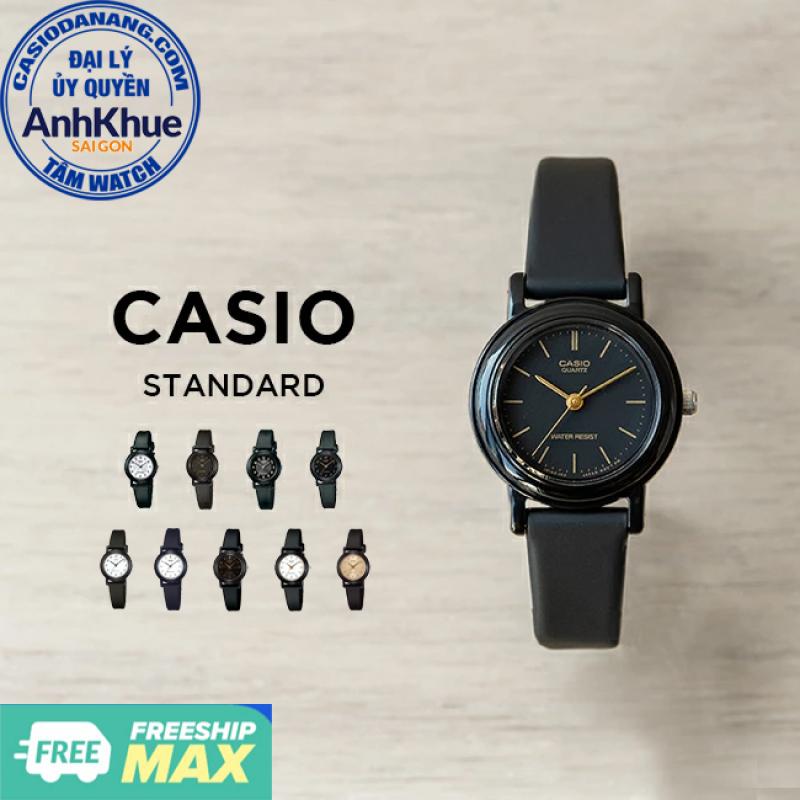 Đồng hồ nữ dây nhựa Casio Standard chính hãng Anh Khuê LQ-139 Series (25mm)