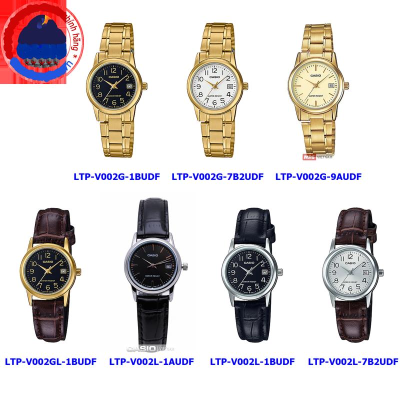 Đồng hồ nữ Casio LTP-V002 ❤️ 𝐅𝐑𝐄𝐄𝐒𝐇𝐈𝐏 ❤️ Đồng hồ Casio chính hãng Anh Khuê đồng hồ đẹp giá rẻ chính hãng