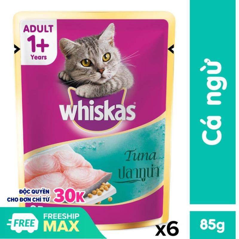 Pate Whiskas cho mèo 85gr cho mèo
