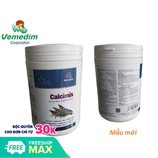 Calcimix ® Hỗn hợp vitamin, canxi, photpho và khoáng cho tôm (Hộp 1kg), Vemedim