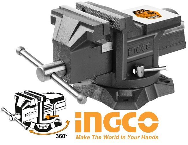 Ê tô eto kẹp 100mm 4inch Bench Vice INGCO HBV084