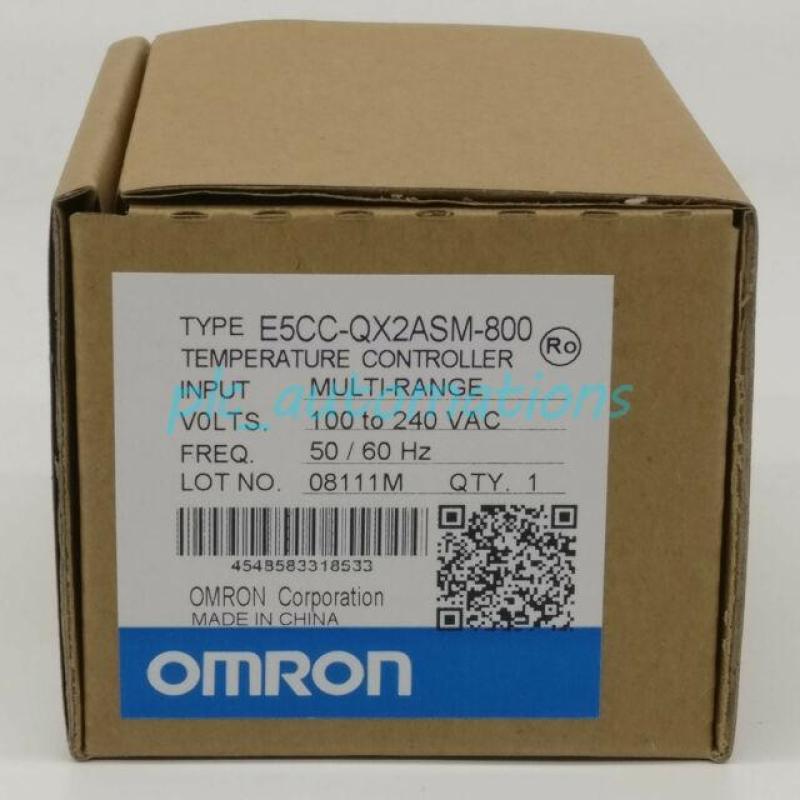 Đồng hồ nhiệt độ Omron E5CC-QX2ASM-800