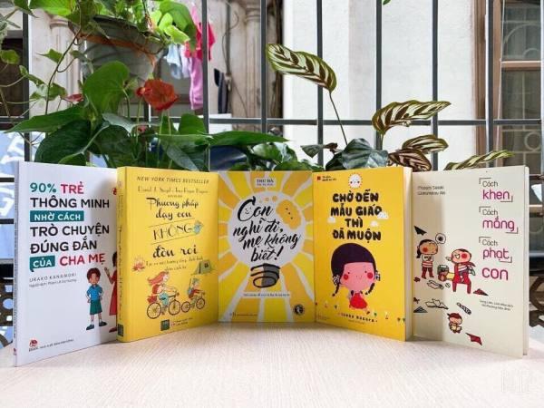 Mua Combo 5 cuốn sách dạy con hay nhất