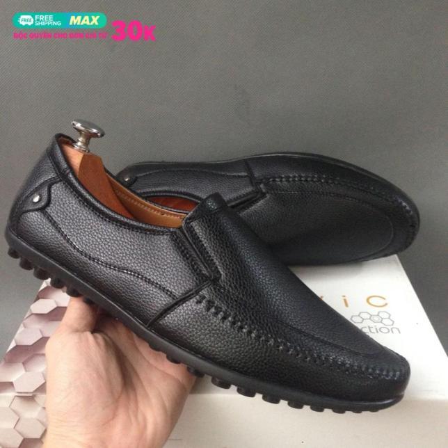Giày mọi nam da bán chạy chỉ 3 ngày sale giá gốc rẻ bền đẹp hot trend giá rẻ