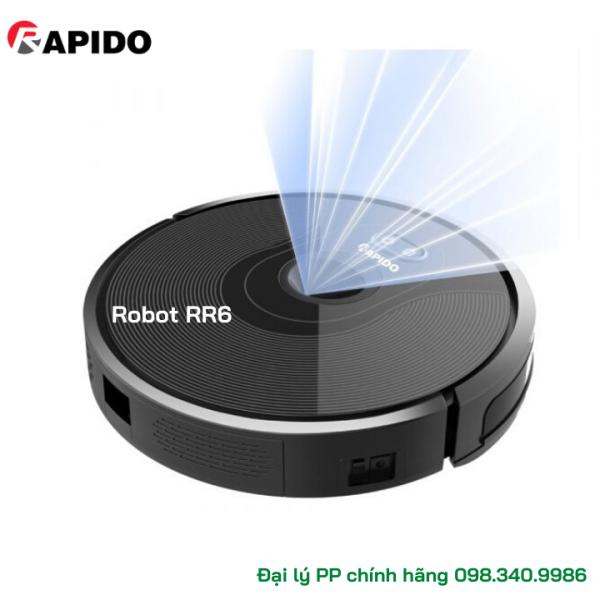Robot Hút Bụi và Lau Nhà Rapido RR6