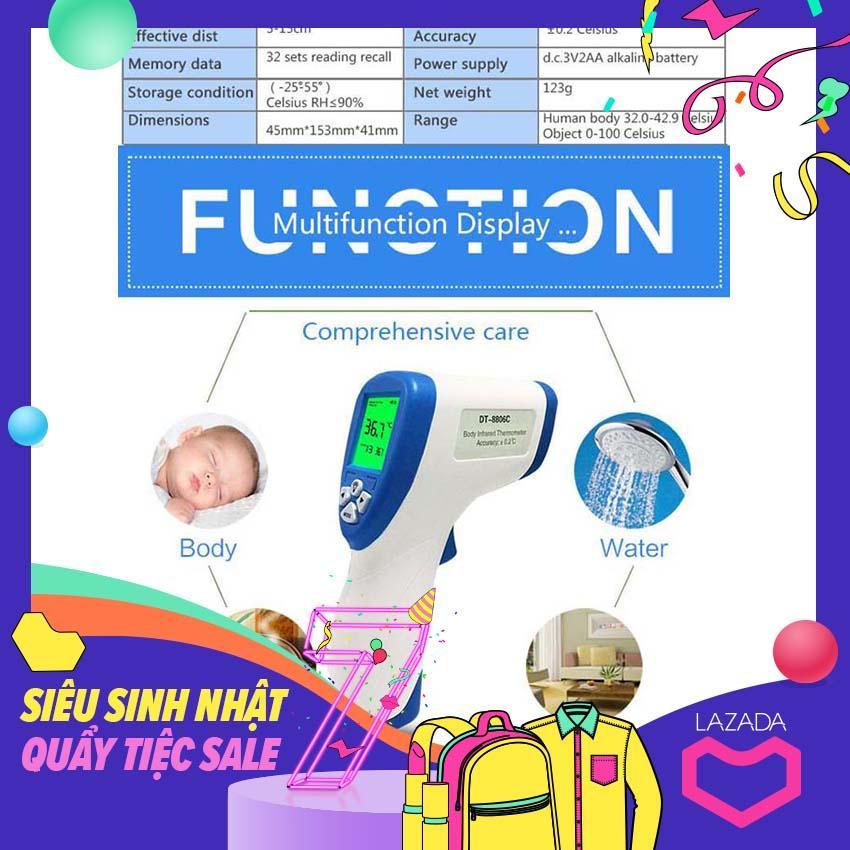 Cap nhiet ke cho tre so sinh - hs -22 DT- 8809C  V 36 đo nhiệt độ trán cho bé, cách kẹp nhiệt kế cho trẻ sơ sinh,  nhiệt Kế tính năng mới, thông minh, kết quả nhanh, chính xác bán chạy