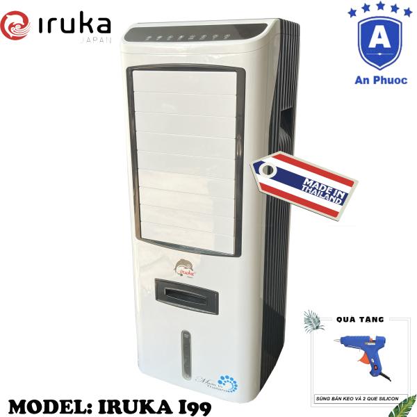 Bảng giá [Trả góp 0%]Quạt hơi nước làm lạnh không khí Iruka I99 Made In Thái Lan | Công suất 200W | Màn hình cảm ứng có remote điều khiển | BH 12 Tháng Tại Điện Máy LACI | Tặng Máy Bắn Keo Kèm 2 Que Silicon