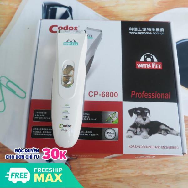 (Bảo hành 6 tháng 1 đổi 1) - Tông đơ CP6800 (hanpet 6800) tông đơ 6800 cắt lông spa cho chó mèo chuyên nghiệp