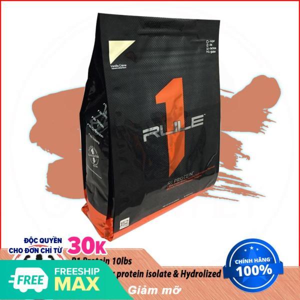 [Lấy mã giảm thêm 30%]Sữa Dinh Dưỡng Tăng Cơ Whey Isolate RULE1 Rule 1 Protein 10 Lbs (4.54kg)
