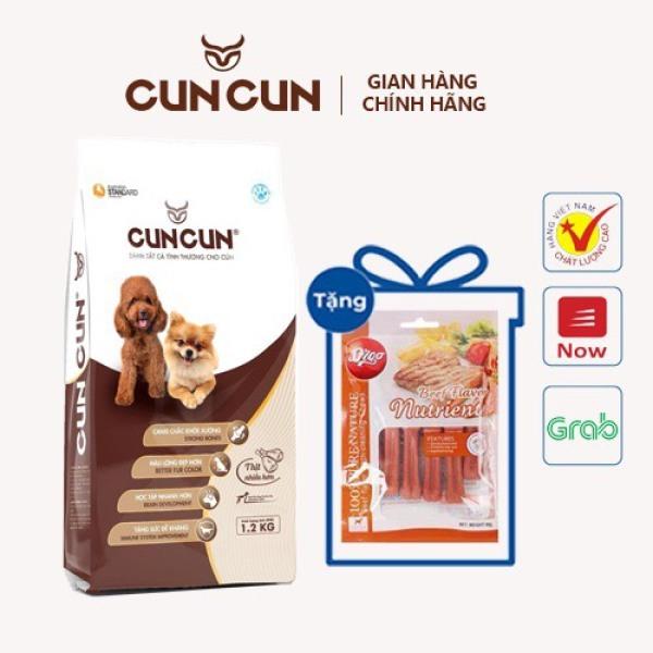 HN - Mua 1 Tặng 1 -Thức ăn cho chó CUNCUN DOG PLUS ++ Tặng xương gặm