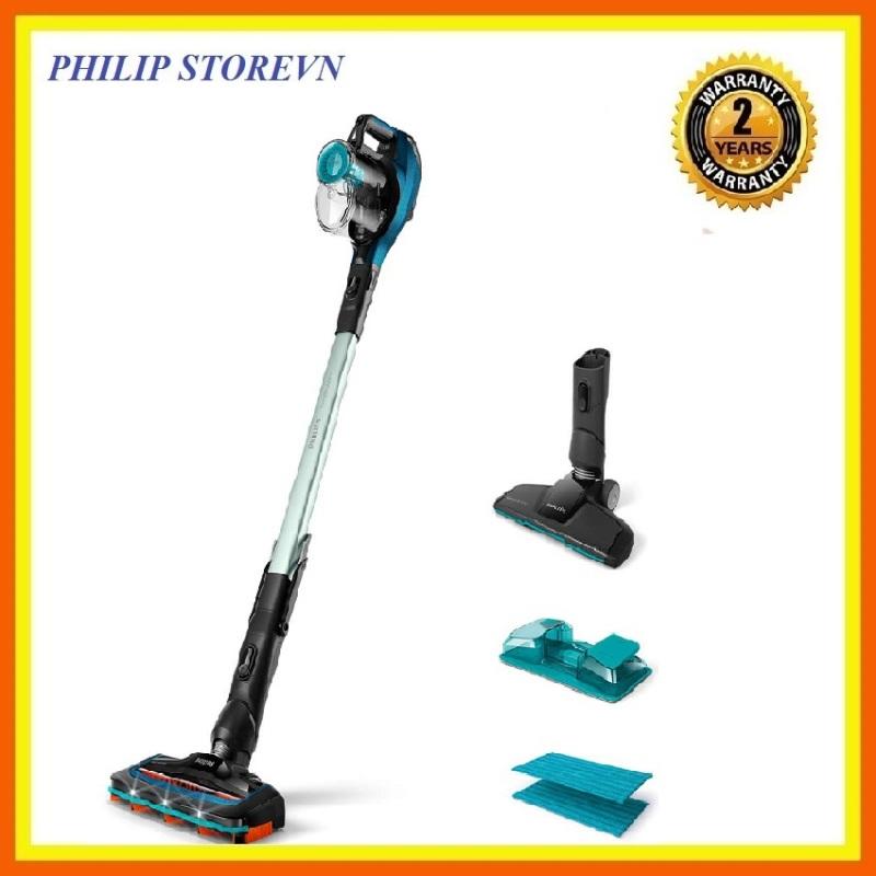 Máy hút bụi không dây dạng cán 3 trong 1 Philips FC6728, kết hợp hút bụi, lau sàn và có tay cầm