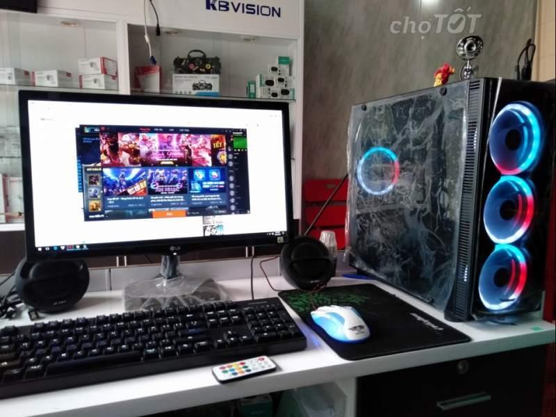 Bộ Máy Tính Chơi Game-Live Stream LOL ,CHƠI PUBG PC, FIFA 4 ,PUBG MOBILE, CF  Core I5 Ram 8GB Giá Quá Ưu Đãi