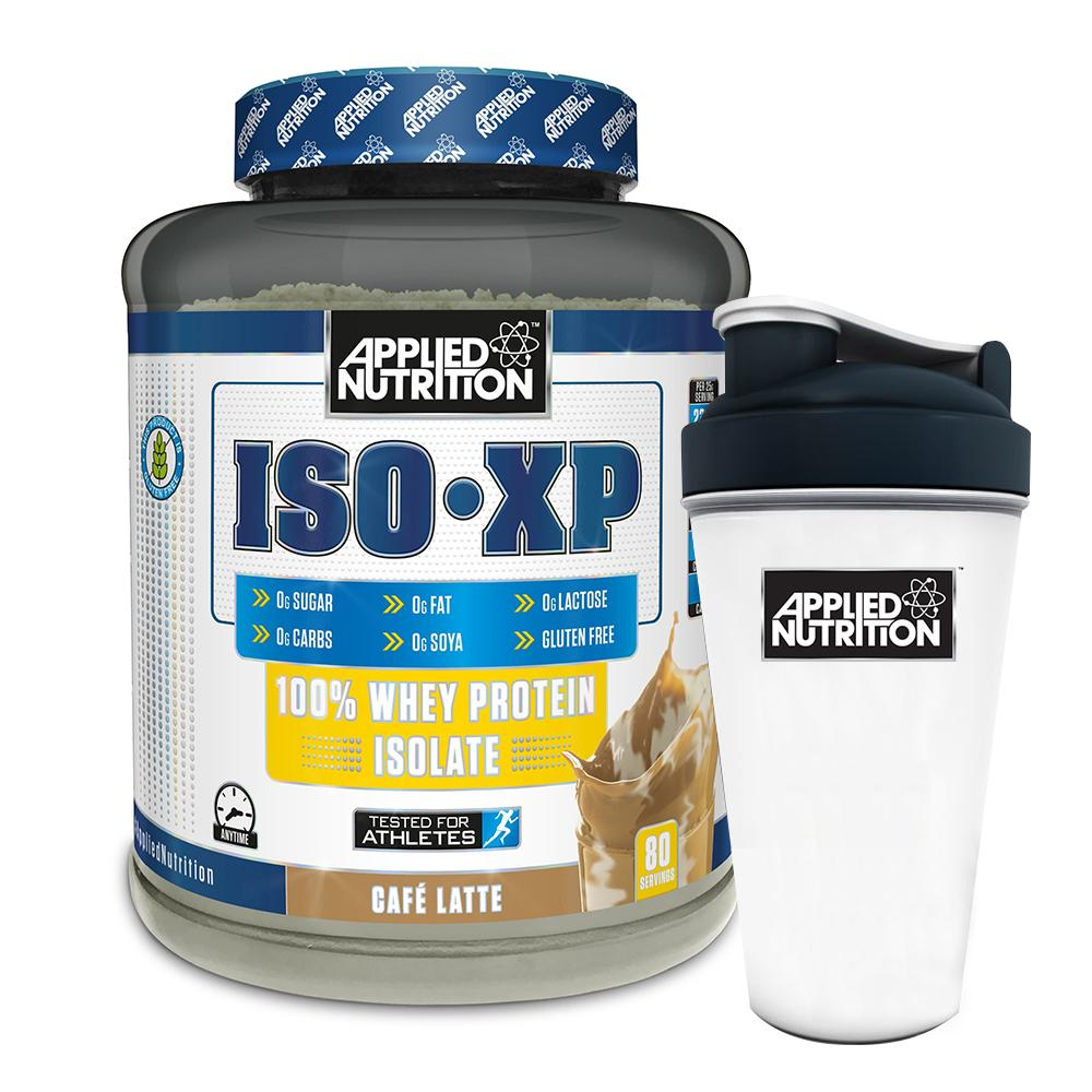 Combo Sữa tăng cơ - Whey Iso XP - Applied Nutrition - 2kg 80 lần dùng & Bình lắc 700 ml