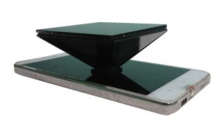 [HCM]Lăng kính Hologram 3D Pyramid dành cho điện thoại 3.5- 6 inch thumbnail