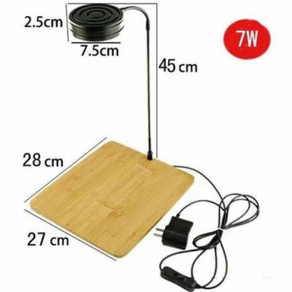 Đèn LED Kệ tre Bamboo thủy sinh Bể 25x25x25cm