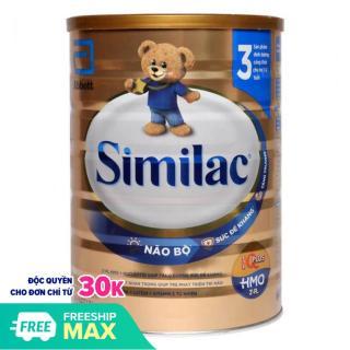 ( Tặng 1 Cân Điện Tử Ensure) Combo 3 Lon Sữa bột Similac HMO 3 Lon 1.7kg (bé 1-2 tuổi) - HSD luôn mới thumbnail