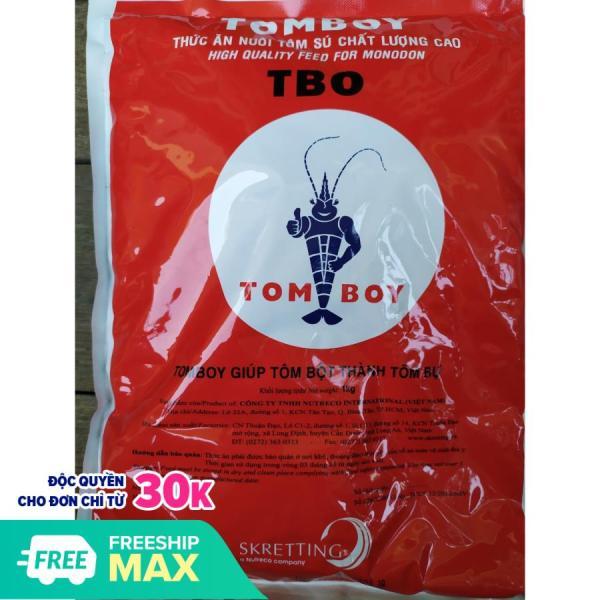 Cám Tomboy [số 0]  hạt mịn thức ăn cho tôm bột  cá con và cá nhỏ loại 1kg