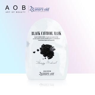 Mặt nạ cấp ẩm và giúp da căng bóng từ trứng cá đen 23 Years Old Black Cavidiol Mask 40g - Date 06.2021 thumbnail
