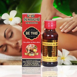 Tinh dầu massage Bé Thơ ngừa nhức mỏi, đau cơ, viêm, thư giãn giải tỏa tinh thần giá rẻ thumbnail