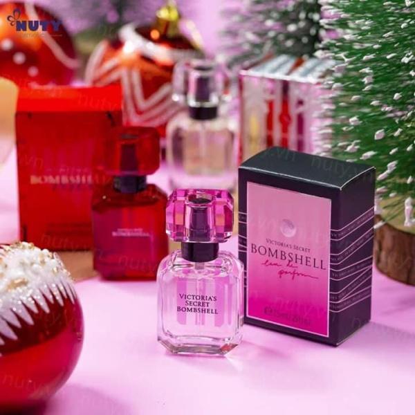 Giftset Nước Hoa Victorias Secret Bombshell 3 Chai