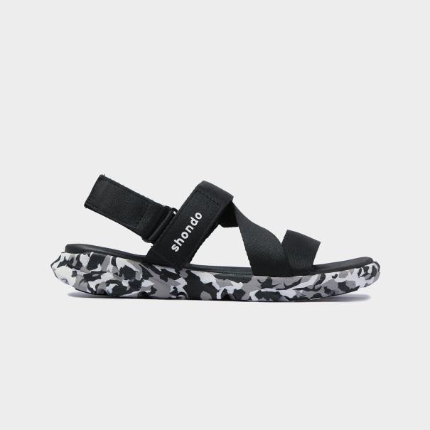 iày Sandals SHONDO F6 Sport - F6S501-Camo Đen giá rẻ