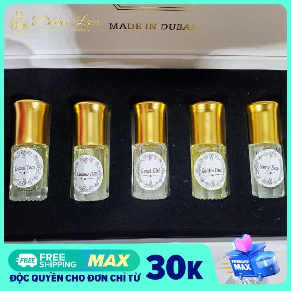 Tinh dầu nước hoa Dubai mini chai lẻ 5ml giá rẻ