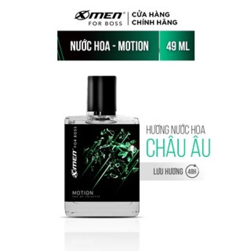 Nước hoa EDT X-Men for Boss Motion 49ml - Mùi hương năng động phóng khoáng