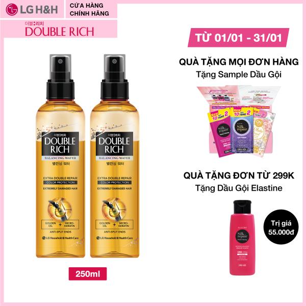 Combo 2 Nước dưỡng tóc Double Rich nuôi dưỡng tóc óng mượt 250ml giá rẻ